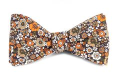 Floral Level - Brown | Ties, Bow Ties, and Pocket Squares | The Tie Bar