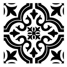 Repeat pattern stencils are a beautiful, cost-effective method of creating a custom look for your home or office. This patterned stencil can create a beautiful hand-painted wallpaper effect or floor tile design. Stencil Patterns, Stencil Art, Stencil Designs, Tile Patterns, Feather Stencil, Tile Stencils, Hand Painted Wallpaper, Painting Wallpaper, Bathroom Wallpaper