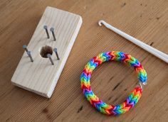 Make your own little Loom Band looms Loom Bands! It's a craze. A big fiddly tweeny fad that just last week swept up my eight and nine year o...