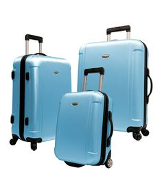 Look at this Arctic Blue Freedom Three-Piece Upright Set on #zulily today!