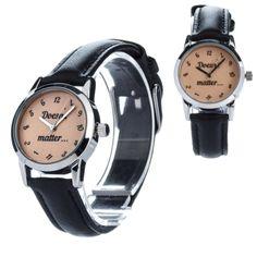Petite ZIZ Watch Small Faces, Smart Watch, Quartz, Unisex, Band, Wristwatches, Trending Outfits, Unique Jewelry, Leather