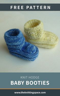 Winter Knitting Patterns, Knitting For Kids, Free Knitting, Knitting Projects, Baby Knitting, Knitting Videos, Knitted Baby, Knit Baby Booties, Quick Knits