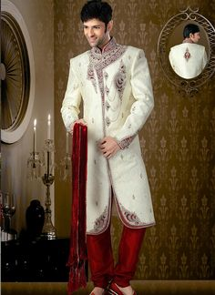Indian Groom Sherwani Supplier Online Collection Online  Buy Now @ http://www.suratwholesaleshop.com/9505-Stylish-Brocade-Lemon-Dhoti-Sherwani?view=catalog  #groomsherwani #indiansherwani #weddingsherwani #indiansherwani #bulksherwani #designermenswear #ethnicsherwani #menswear #menswearcollection