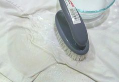 Remove stains from whites