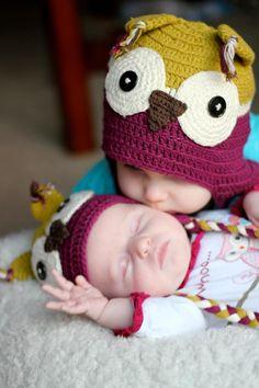 Taylor Joelle owl hats