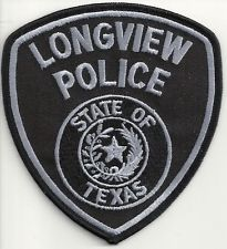 Longview Police Texas subdued patch