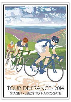 #TDF2014 ~ Stage 1 Leeds to Harrogate.