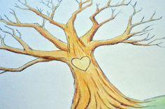 Custom Handmade Fingerprint Guestbook Tree Fingerprint Tree, Guest Book Tree, Love And Marriage, Etsy Store, Guestbook, Wedding Stuff, Studios, Handmade, Painting