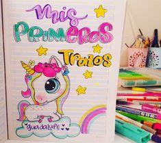 Notebook Art, Disney Drawings, Pony, Kawaii, Lettering, Wallpaper, School, Cute, Instagram