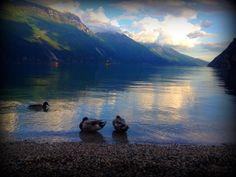 The majestic dolomites surrounding Lago Di Garda Italy [960x720] [OC]