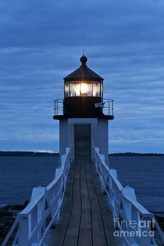 Marshall Point Light Photograph. Ive never been to a lighthouse like this. Id like to change that.