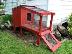 Rabbit Hutch Made with Pallets…
