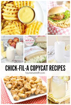 A round up of the best Chick-fil-A copycat recipes available to the public. Pinning this one for later!