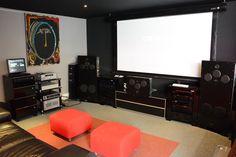 L'espace Home-cinéma accueille de nouveaux produits pour les 5 ans du magasin #EasyLounge #Waterfall #Homecinema