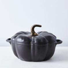 Staub Cast Iron Pumpkin Cocotte, 3.5QT on Food52