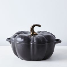 Staub Cast Iron Pumpkin Cocotte, 3.5QT // Food52