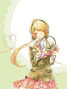 Image via We Heart It https://weheartit.com/entry/169813547/via/26102185 #anime #animegirl #музыка #НАУШНИКИ