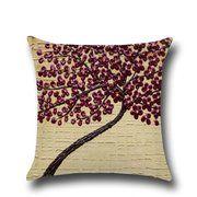Meijuner Cushion Cover Vintage Flower Square linen cotton Cushions Pillow Case Decorative Pillows cover for Sofa Home Office Decorative Pillow Covers, Throw Pillow Covers, Pillow Cases, Throw Pillows, Linen Pillows, Linen Fabric, Cotton Linen, Knit Pillow, Flower Pillow