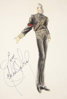 drawing by Michael Jackson