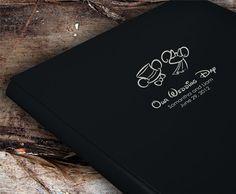 Disney Wedding Photo Album or Scrapbook by AlbumOptions on Etsy, $55.95