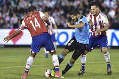 Blog Esportivo do Suíço: Uruguai vence o Paraguai em Assunção e se aproxima da Copa do Mundo