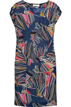 Matthew Williamson Printed silk dress | NET-A-PORTER