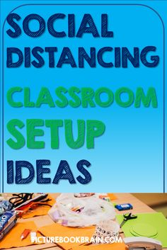 Check out these social distancing classroom setup ideas for elementary teachers. Classroom desk arrangement social disblogtancing with student desks and tables. Options for flexible seating, classroom supplies, carpet spots. Also ideas to make distance learning easy for teachers. Want a socially distant classroom layout? Ideas for that as well to help make your year as fun as possible for Kindergarten through upper elementary kids!
