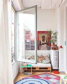 El mejor lugar en casa de @joana_santamans, y conste que tiene muchos, es su galería interior  Amor a primera vista!