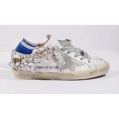 Chaussures De Sport Pour Les Femmes En Vente, Blanc, Cuir, 2017, 40 Oie D'or