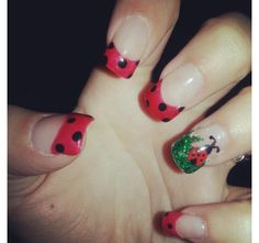 #oliverfinley#nailart#ladybug