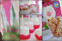 Simple Girl: Pink Birthday Party Ideas