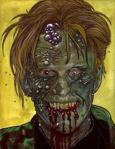 Zombie Gary Busey…Or the Real Busey? What's Scarier?  ---  I love Gary Busey just cuz he's so freaking scary weird ;)