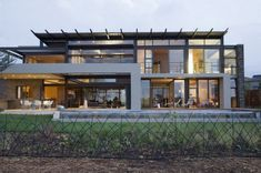 Nico Van Der Meulen Architects, a Johannesburg-based studio, has completed the House Serengeti project, a contemporary two-storey home perfectly encapsulating the beautiful South African scenery.