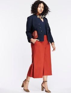 """Content by Eloquii: How 5 Amazing Women Redefine Plus-Size Fashion """"Rules"""" from InStyle.com"""