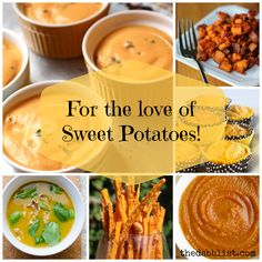 For the Love of Sweet Potatoes – Recipe Round-Up!