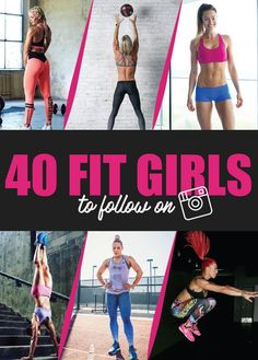 40 Best Fitness Instagram Girls To Follow for Daily Workout Videos and Motivation