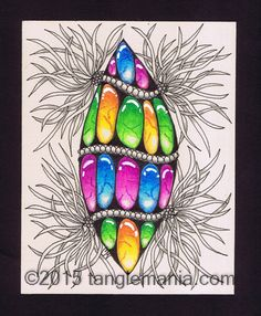 Tangle Mania: Lucy in the Sky With Gems