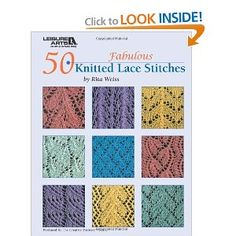50 Knitted Lace Stitches, (Rita Weiss)