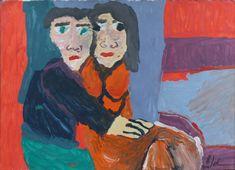 Eine Acrylmalerei von Benjamin Jahn Figurative Art, The Outsiders, Painting, Random Stuff, Kunst, Painting Art, Paintings, Painted Canvas, Drawings