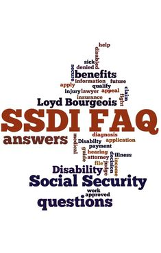 Loyd gets a lot of questions about SSDI from his clients. Take a moment to get the answers that you need about cases like yours here in the FAQ section. Chronic Fatigue Syndrome, Chronic Illness, Chronic Pain, Fibromyalgia, Disability Help, Disability Insurance, Disabled Veterans Benefits, Disability Application, Social Security Benefits