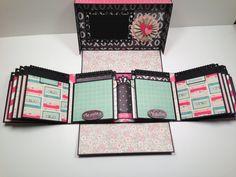Boxed Gatefold Mini Album Pattern with by PaperHoarderDisorder