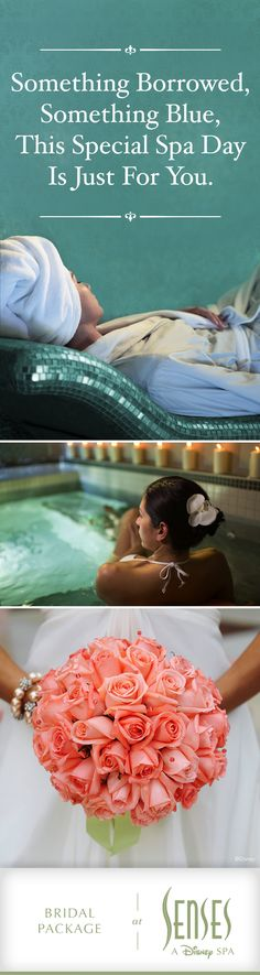Every bride deserves to feel like royalty. At Senses – A Disney Spa, our bridal spa package includes a de-stress bath, massage, facial, and pedicure. To learn more about this special service, or to purchase a Gift Card for the blushing bride, please call 407-WDW-SPAS. Services subject to change. #DisneyWorld #Bridal