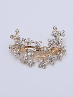To find out about the Rhinestone Hair Clip at SHEIN, part of our latest Hair Accessories ready to shop online today! Metal Models, Latest Hairstyles, Gold Style, Cool Names, Free Gifts, Hair Clips, How To Find Out, Women Accessories, Brooch