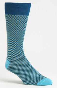 Lorenzo Uomo Check Socks available at Nordstrom
