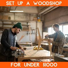 You can set up a complete woodshop in a small space for under a $1000. Don't believe me? Watch the video to see how. Diy Outdoor Furniture, Home Decor Furniture, Diy Home Decor, Furniture Projects, Outdoor Projects, Diy Projects, Garden Projects, Project Ideas, Easy Diy Crafts