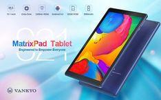 VANKYO MatrixPad S21 10-inch 10 Inch Tablet, 2gb Ram, Android 9, Wifi, Bluetooth, Catalog, Core, Usb, Display