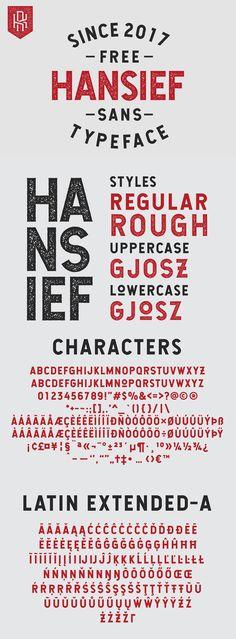 Hansief Free Vintage Font