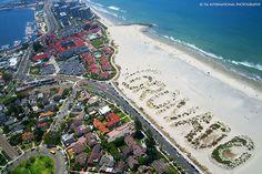 The next time you plan a weekend getaway or a quick day trip to the San Diego area, make sure you check out Coronado Island. Hotel Coronado, Coronado San Diego, Coronado Beach, Coronado Island, Chula Vista California, Caladesi Island State Park, San Diego Resorts, San Diego Area, San Diego Travel