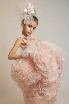 Flower girl couture from Kriktor Jabotian - is it okay for my flower girls to look better than the bride?