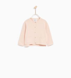 BASIC CARDIGAN-SWEATERS AND CARDIGANS-BABY GIRL | 3 months - 4 years-KIDS | ZARA United States